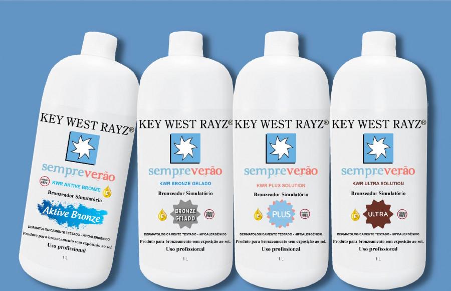 Soluções Bronzeadoras Key West Rayz